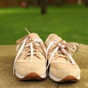 Tan Saucony Running Shoes